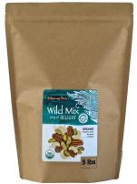Wilderness Poets, Song of Delight Wild Mix - Organic Raw Trail Mix - Pecans, Cashews, Mulberries, Pistachios, Coconut Ribbons - 10 Pound (160 Ounce)