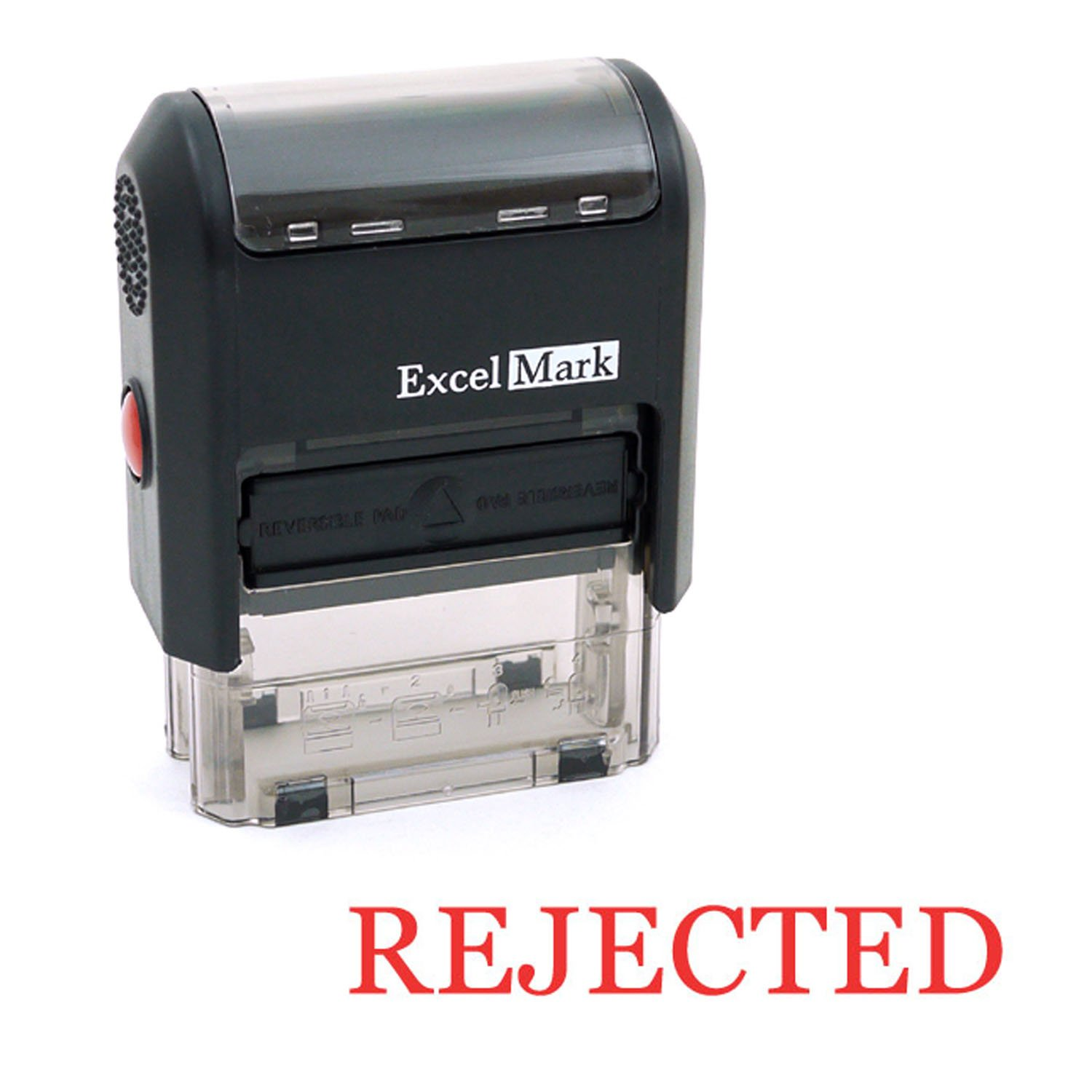 Rejected Self Inking Rubber Stamp - Red Ink (ExcelMark A1539)