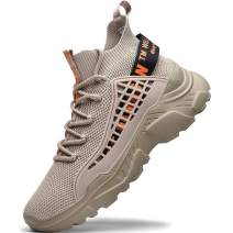 RUNMAXX Men Fashion Sneakers Laces Stylish Athletic Walking Running Shoes Casual Walk Shoes