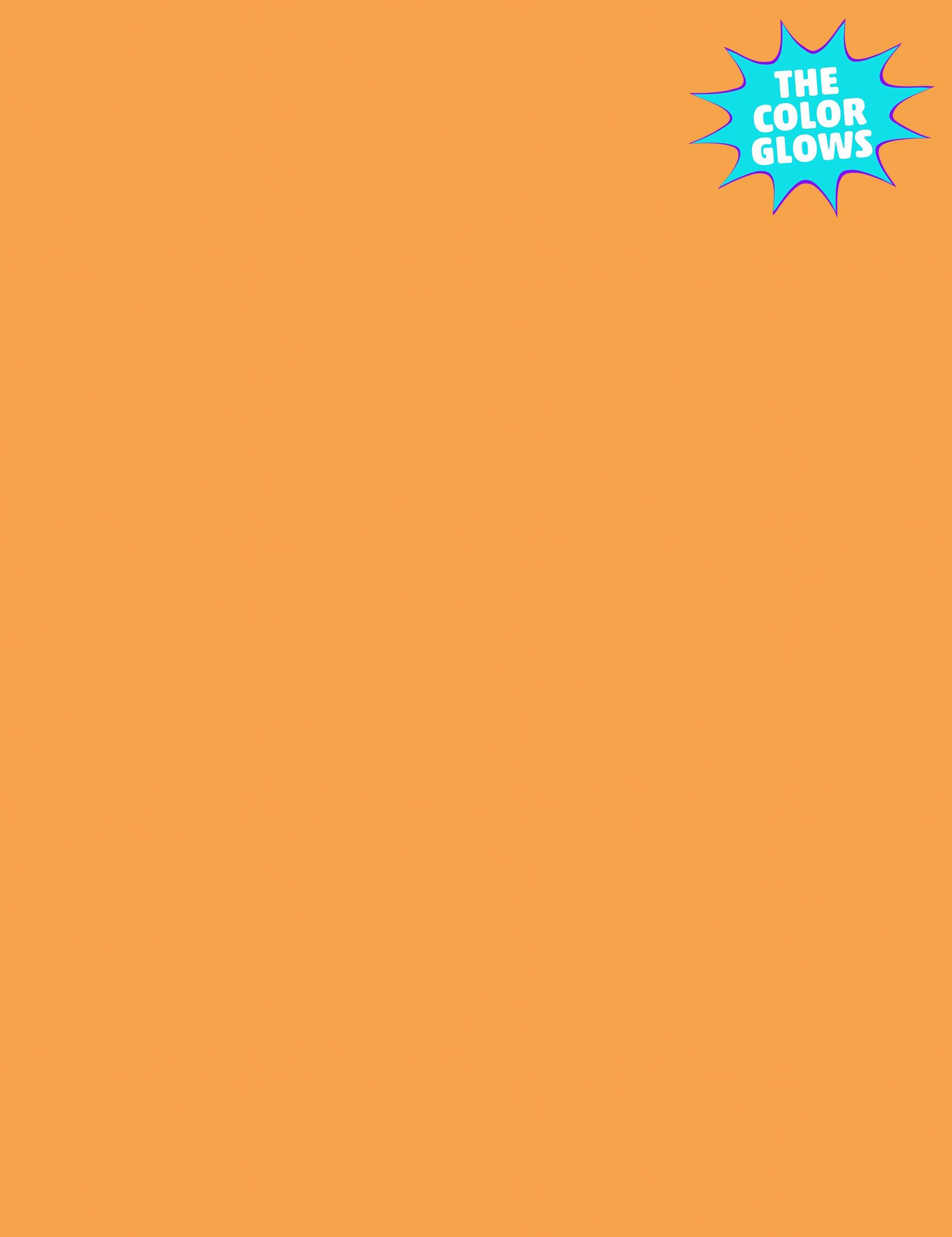 Kaleidoscope Multi-Purpose Paper, 8.5 x 11 Inches, Hyper Orange, 500 Sheets (102218)
