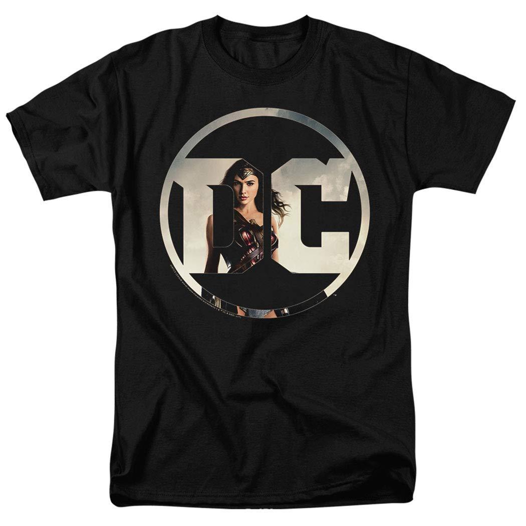 Justice League Movie Wonder Woman DC Comics Logo T Shirt & Stickers