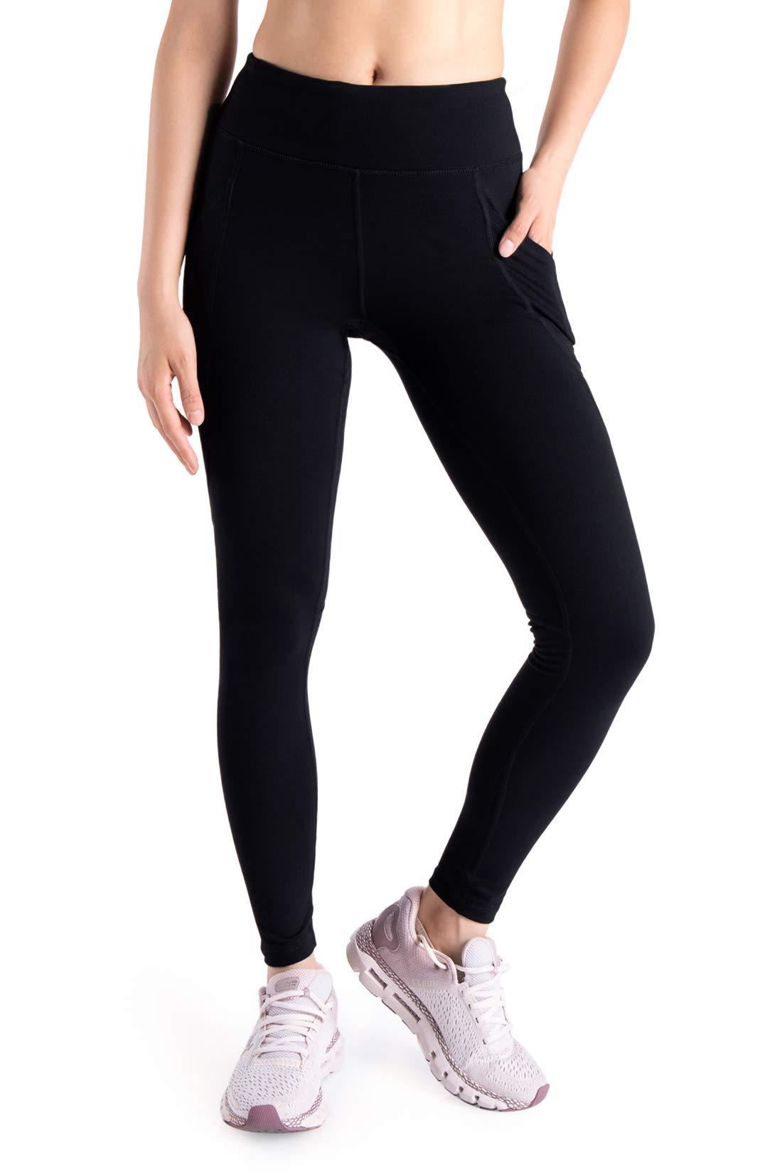 """Yogipace,Side Pockets,Women's 25""""/31""""/34""""/36"""" Yoga Workout Leggings Active Pants"""