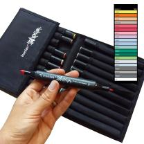 Ironlak Strikers - Dual Broad and Fine Tip Alcohol Graphic Markers (20 Pack, Series 1)