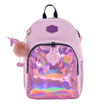 MOZIONI School Backpack (Pink metallic)