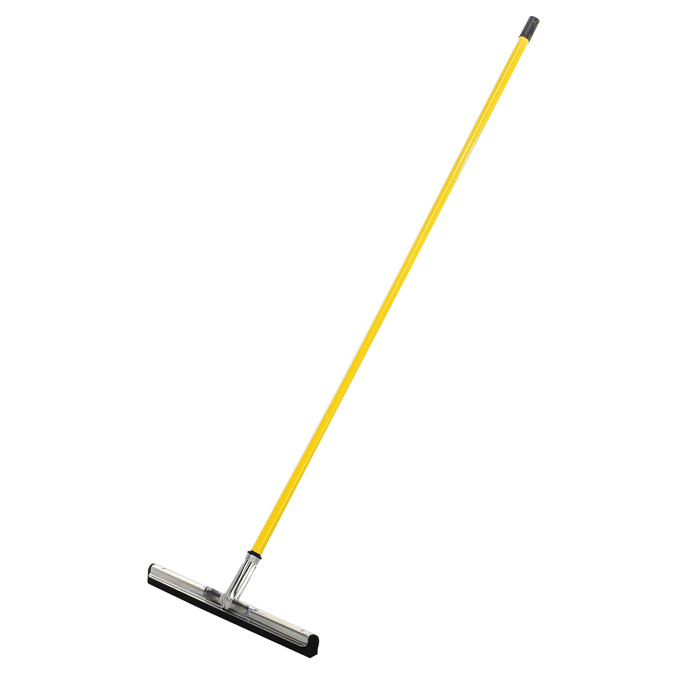 Alpine Industries Heavy-Duty Dual Moss Floor Squeegee with 50 Handle - Industrial Grade Soft Foam Replacement Head for Cleaning Wet & Dry Concrete, Wood & Tile Floors (22 in)