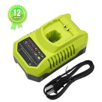 P117 DualChemistry IntelliPort Battery Charger Replacement for Ryobi 12V-18V One+ Plus NiCd NiMh Lithium Battery P100 P101 P102 P103 P105 P107 P108 P200 1400670