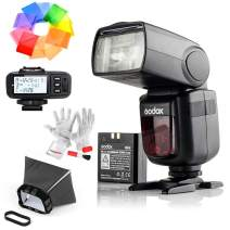 Godox Ving V860IIS 2.4G GN60 TTL HSS 1/8000s Li-on Battery Camera Flash Speedlite With X1T-S Flash Trigger for Sony - 1.5S Recycle Time 650 Full Power Pops Supports TTL/M/Multi/S1/S2