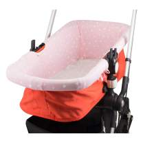 JANABEBE Universal CarryCot Cover (Pink Sparkles)