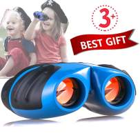 Toys For 4-5 Year Old Boys,Niskite Mini Compact Kids Binoculars,Top Birthday Gifts For Boy Girls Age 6 7 8 9 10, Best Popular Hottest Christmas Gift For Teens Blue