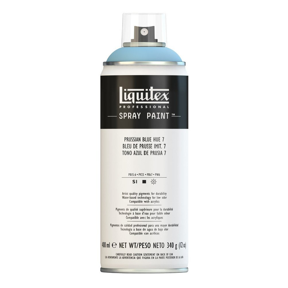 Liquitex Professional Spray Paint, Prussian Blue Hue 7