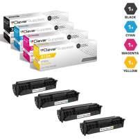 CS Compatible Toner Cartridge Replacement for HP M476DN CF380A Black CF381A Cyan CF382A Yellow CF383A Magenta HP 312A Color Laserjet PRO MFP M476 PRO MFP M476DN 4 Color Set