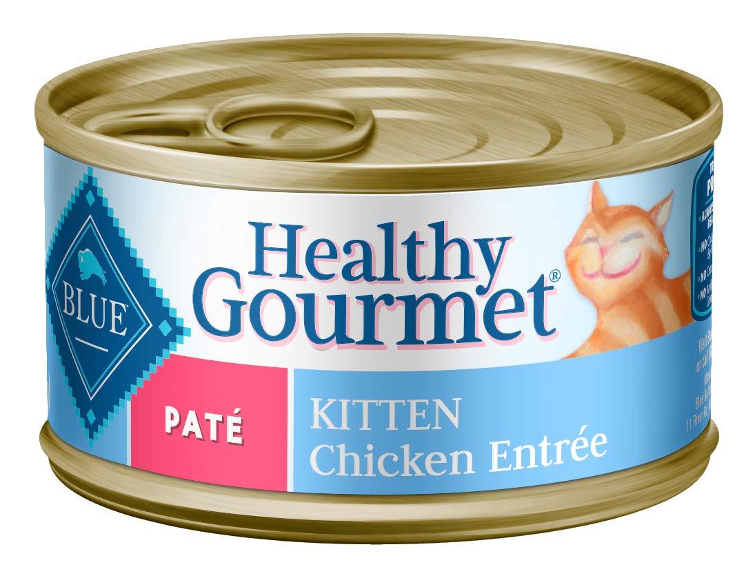 Blue Buffalo Healthy Gourmet Natural Kitten Pate Wet Cat Food