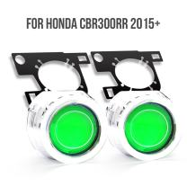 KT Tailor-Made HID Projector Kit HP33 for Honda CBR300R 2015 2016+ Green Demon Eye