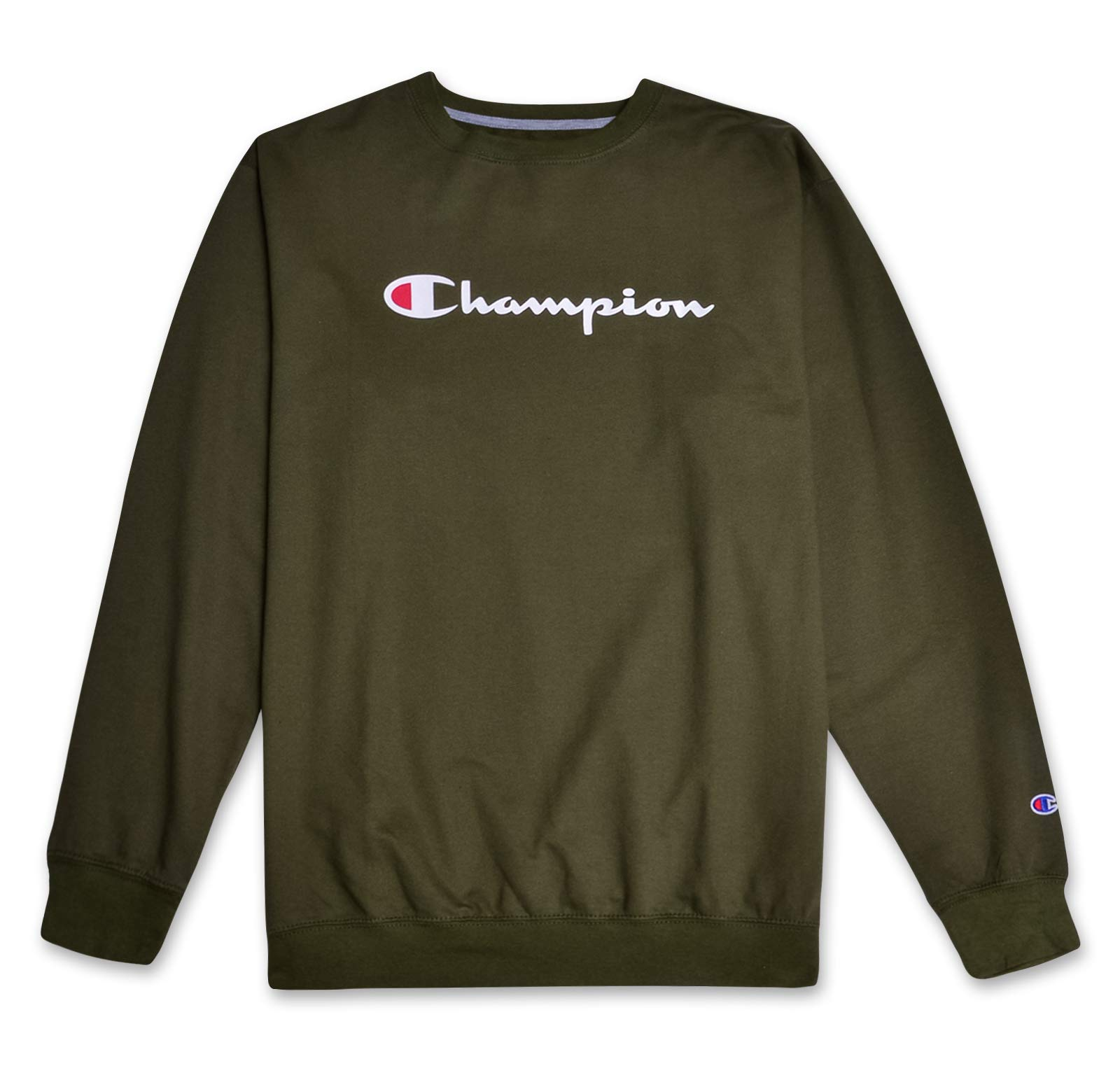 Champion Sweatshirt Mens Big and Tall Logo Sweater Crewneck Sweatshirt