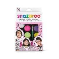 Snazaroo, Fantasy Face Paint Palette Kit, (Girl)