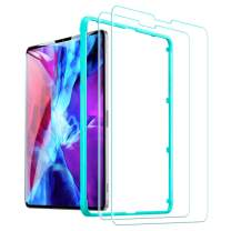 ESR (2-Pack) Screen Protector for iPad Pro 12.9 2020 & 2018, 9H-Hard HD Clear Tempered-Glass Screen Protector for The iPad Pro 12.9-Inch [2X Strength] [Scratch-Resistant]
