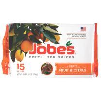 Jobe's 100046754 1612 Fertilizer Spike, 15, Brown