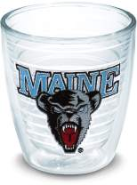 Tervis 1045233 UMaine Black Bears Logo Tumbler with Emblem 12oz, Clear