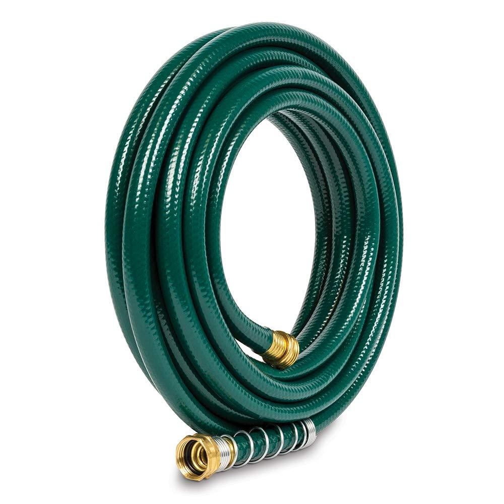 Gilmour 824251-1001 Flexogen Heavy Duty Watering Garden Hose 1/2in x 25 Feet, Green