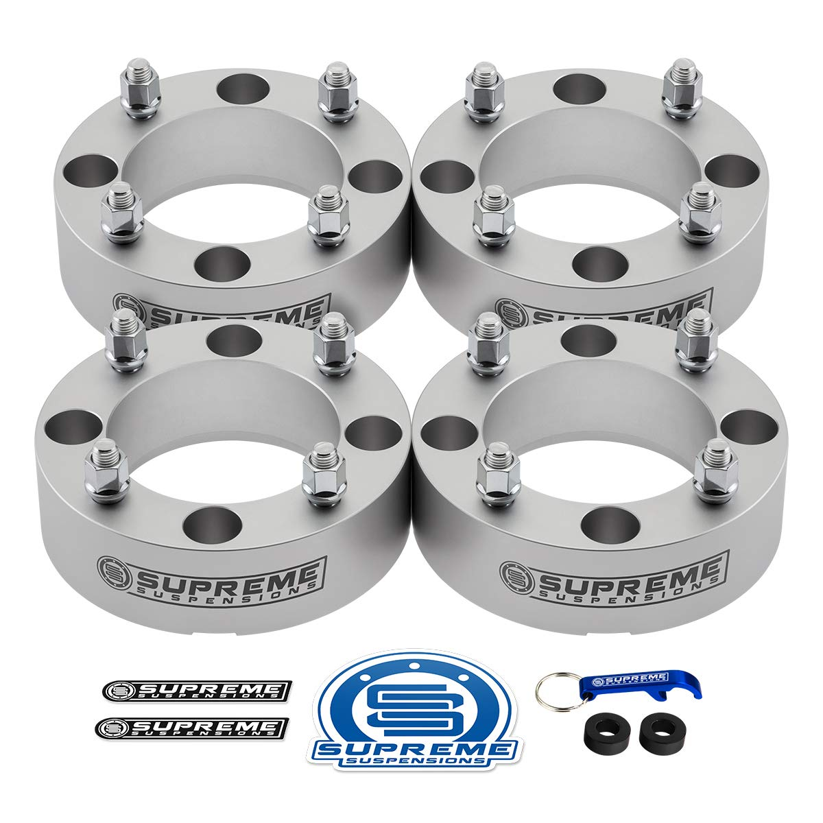 """Supreme Suspensions - 4pc Set of 1.5"""" Wheel Spacers for CAN-AM Outlander 400 + 500 + 650 + 800 