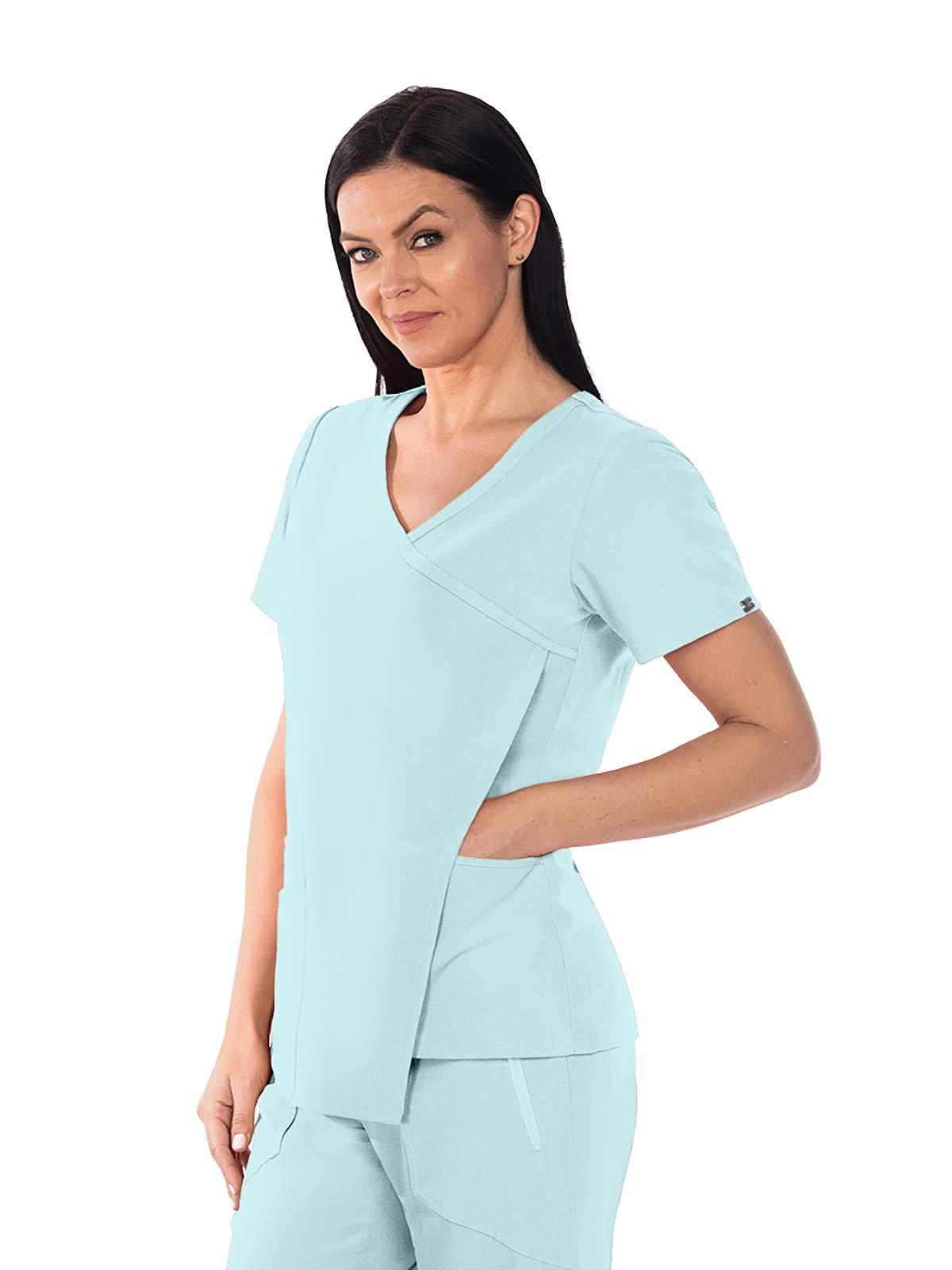 Grey's Anatomy Signature Nina Top for Women - Super-Soft Medical Scrub Top