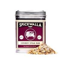 Spicewalla Cowboy Steak Seasoning 4.5 oz | Salted, Non-GMO, No MSG, | Steak Rub for Grill, BBQ, Marinade