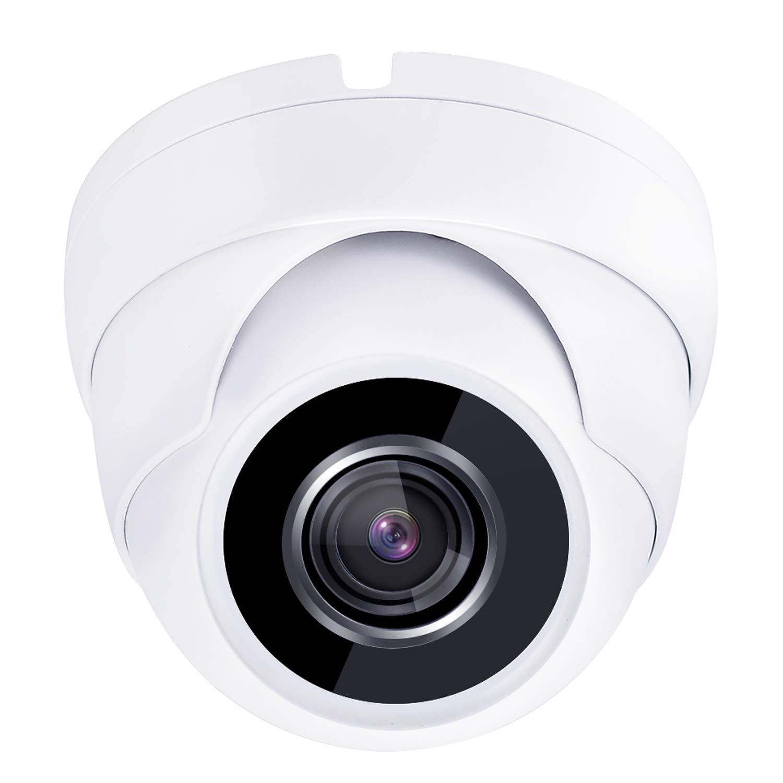 HDView 2.4MP (HD-TVI/AHD/CVI/Analog) 4-in-1 Dome Camera 1080P Outdoor Indoor Turbo Platinum 3.6mm Fixed Lens IP66 Night Vision Black Film Matrix EXIR LED CCTV Security Surveillance System