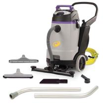 ProTeam Wet Dry Vacuums, ProGuard 20, 20-Gallon Commercial Wet Dry Vacuum Cleaner with Tool Kit and Front Mount Squeegee