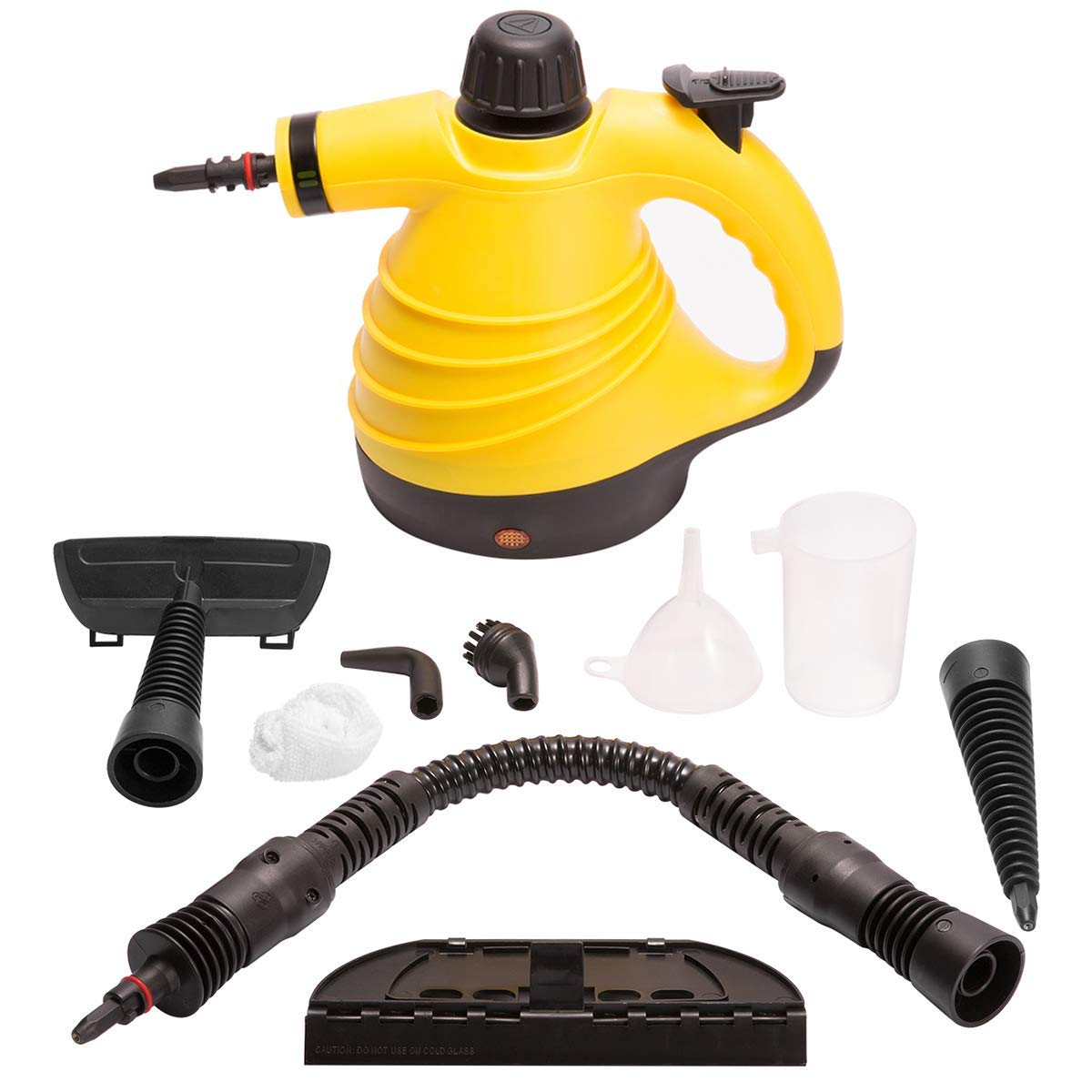 DOEWORKS Handheld Steam Cleaner, Multi-Purpose Pressurized Portable Steamer with 9-Piece Accessory Set for Bathroom, Kitchen, Surfaces, Carpet, Car Seats and Floor