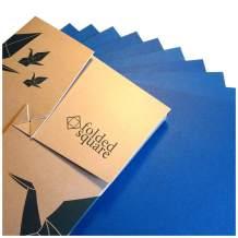 "Blue Origami Paper | 100 Sheets, 6"" Square | Pantone 301"