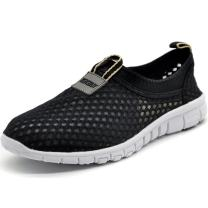 KENSBUY Women's Lightweight Slip on Mesh Shoes Quick Drying Aqua Water Shoes Athletic Sport Walking Sneaker