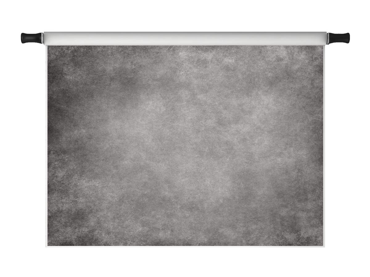 Kate 8x8ft Grey Vintage Solid Color Photography Backdrops Microfiber Adult Portrait Backdrop for Photoshot Photo Background