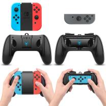 Switch Joy Con Hand Grip Charging Dock 2 Modes Compatible for Nintendo Switch and Joy-Con