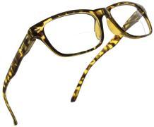 Fiore Bifocal Reading Glasses Bi Focal Readers For Men Women With Spring Hinges