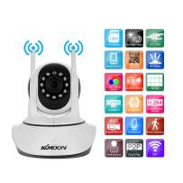 """KKmoon 1080P IP Camera Wireless WiFi Camera PTZ Camera HD 2.0MP 1/2.7"""" CMOS 3.6mm Lens Support PTZ Two-Way Audio Night Vision Phone APP Control Motion Detection TF Card"""