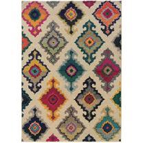 "Oriental Weavers 5990Y Kaleidoscope Area Rug, 7' 10"" x 11', Multi Colored"