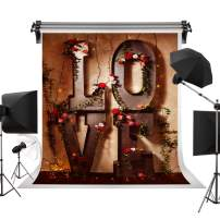 Kate 10x10ft/3x3m Valentine's Day Wedding Photo Backdrops Wedding Party Love Flower Backgrounds Photography Studio Props