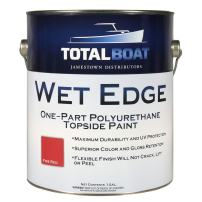 TotalBoat Wet Edge Topside Paint (Fire Red, Gallon)