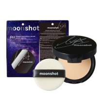 [moonshot] Blackpink Lisa's Pick Special Edition Powder Fixer SPF27 PA++ 4g 2 Colors - Long Lasting Sebum Control & Poreless Micro Powder Pact, Fixed Makeup for Oily Skin (202 Vanilla Beige)