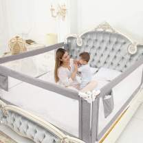 """SURPCOS 70"""" Bed Rails for Toddlers - Extra Long Baby Bed Rail Guard for Kids Twin, Double, Full-Size Queen & King Mattress"""