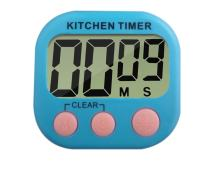 Digital Kitchen Timer with Loud Sound Large LCD Display Magnetic Back and Retractable Stand for Cooking/Baking/BBQ, Blue