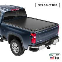 "RetraxONE MX Retractable Truck Bed Tonneau Cover | 60842 | Fits 2007-2020 Tundra Regular & Double Cab with Deck Rail System   6' 5"" Bed"