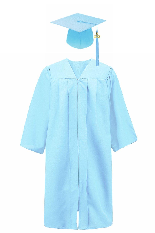 Annhiengrad Unisex Adult Matte Graduation Gown Cap with Tassel 2020, 13 Colors