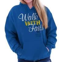 Walk with Faith Jesus Christ Christian Love Hoodie