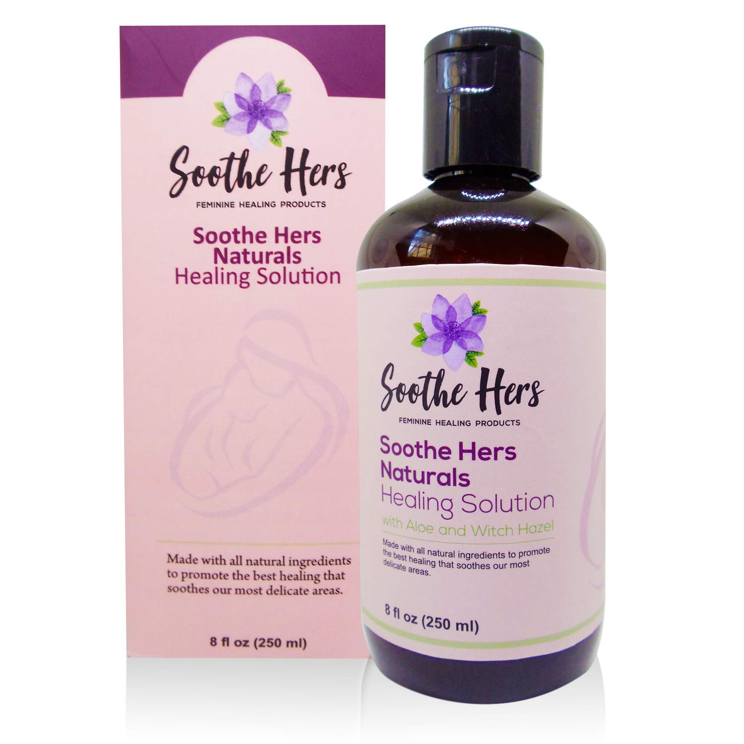Soothe Hers Postpartum Healing Solution   Natural Perineal Recovery   Postpartum Care for Moms   Safe for Pregnancy   Labor & Delivery Bag   Birth Prep   Baby Shower Gift   8 oz