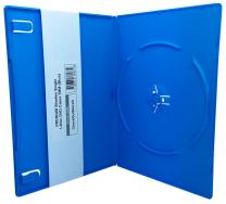 CheckOutStore (100) Premium Slimline Single 1-Disc DVD Cases 7mm (Blue)