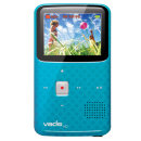 VADO VF0624 3G Camcorder with 2x Optical Zoom and 2-inch LCD Screen - CYAN