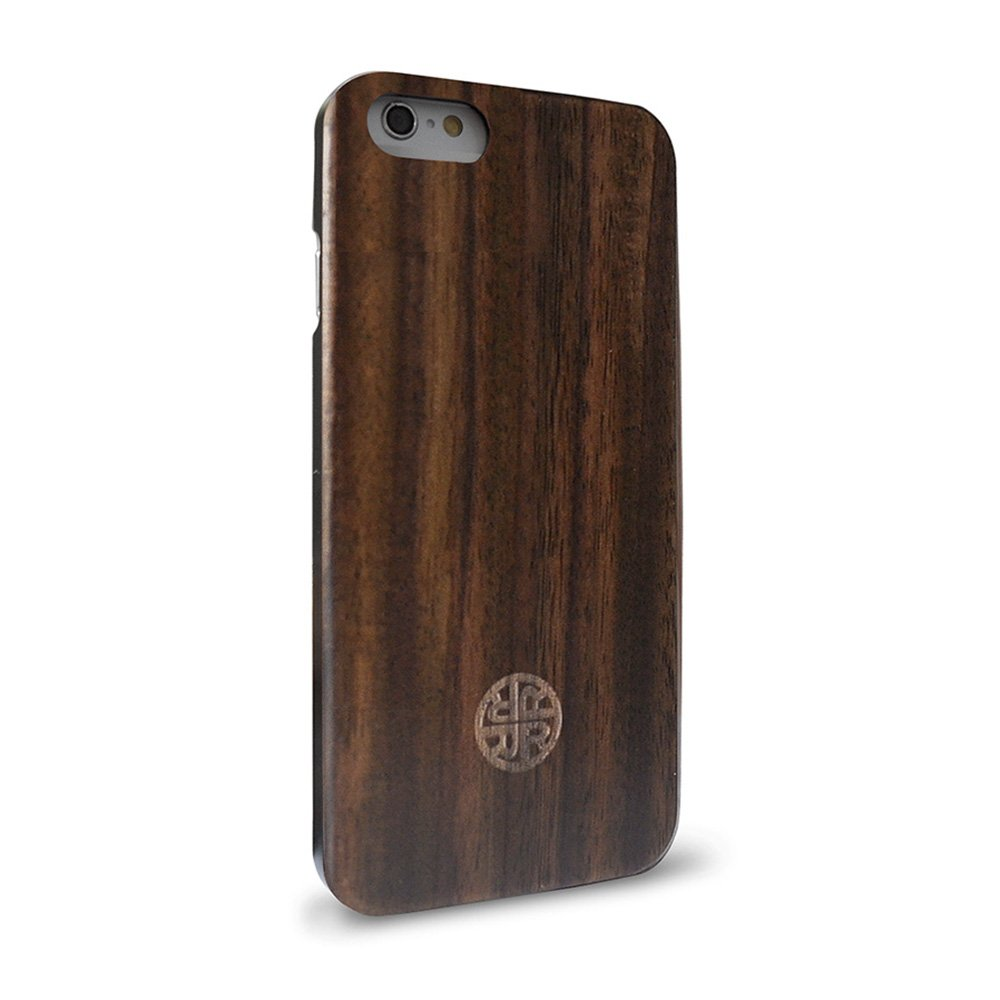 Natural Wood Case Compatible with iPhone 7/8 by Reveal - Eco-Friendly Design (Wood)