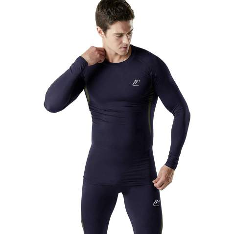 Men Outdoors Cycling Sport Compression Base Layer Thermal Underwear Winter Set