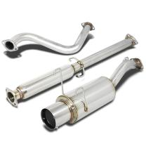 DNA Motoring CBEHDS93 Stainless Steel Cat back Exhaust System